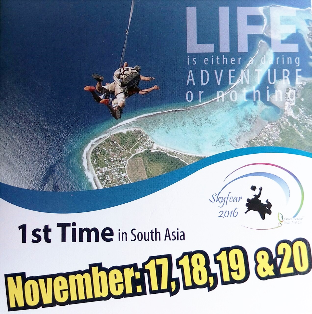 Scuba Diving , Sky Diving